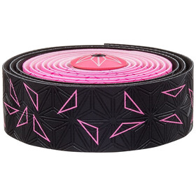 Supacaz Super Sticky Kush Starfade Handlebar Tape neon pink